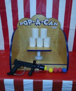 Pop a Can Carnival Game