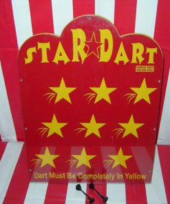 Star Dart Carnival Game