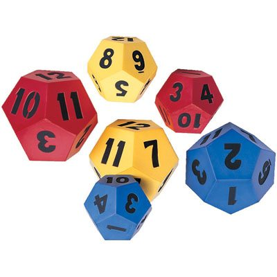 Toss and Tumble Game DIe