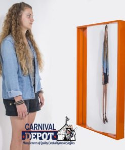 Funhouse Mirror 4' (Orange Frame)