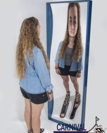 6' Funhouse Mirror