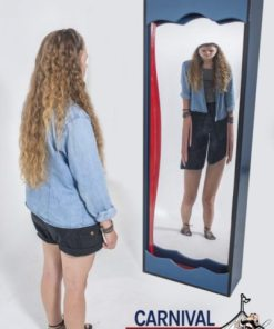 6' Double Sided Funhouse Mirror