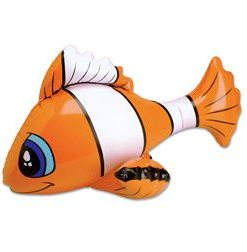 Clown Fish Inflate Carnival Prize