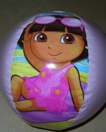 Dora the Expolrer Beach Ball Inflate