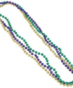 Mardi Gras Metallic Bead Carnival Prize