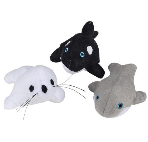 Sea Life Bean Bag Carnival Prize Plush