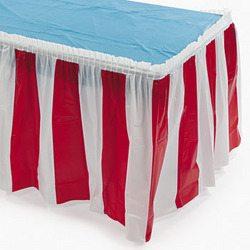 Carnival Table Skirting