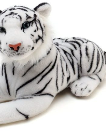 "40"" White Tiger Plush"