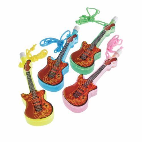 Guitar Bubble Necklaces Carnival Prize