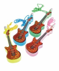 Guitar Bubble Necklaces Carnival Prize