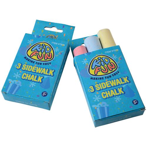 Sidewalk Chalk Boxes Carnival Prizes
