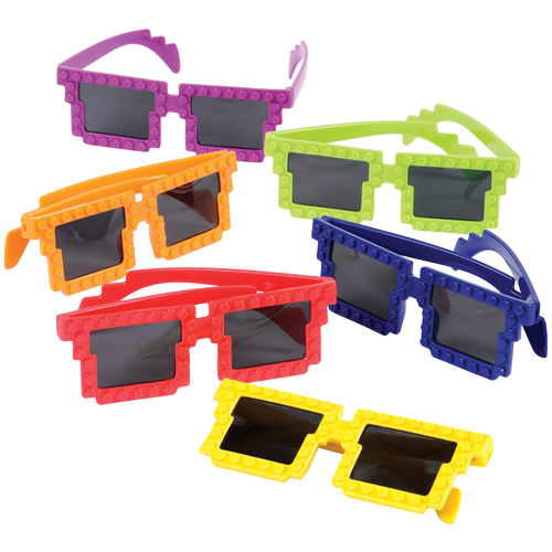 Block Mania Toy Glasses Carnival Prize