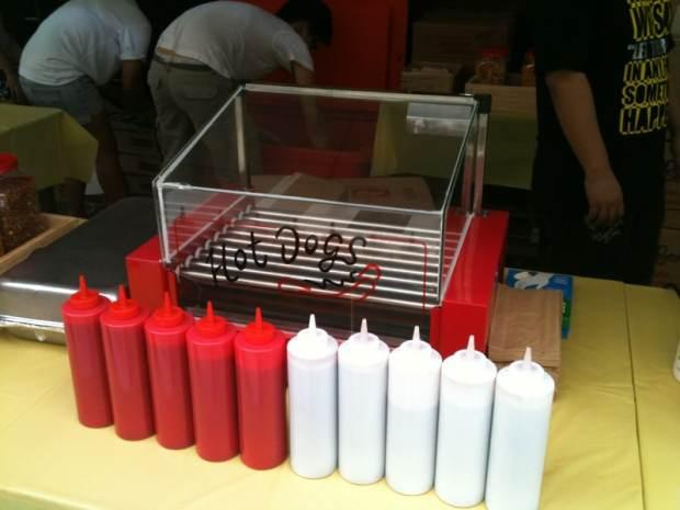 Hotdog Stall Rental