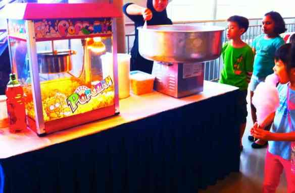 Singapore Popcorn Machine Rental
