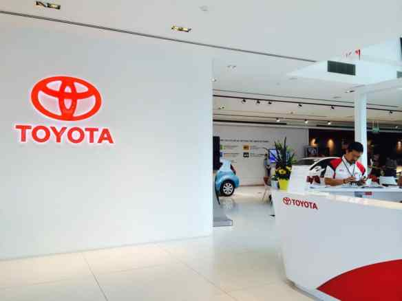 Toyota Showroom Event Management