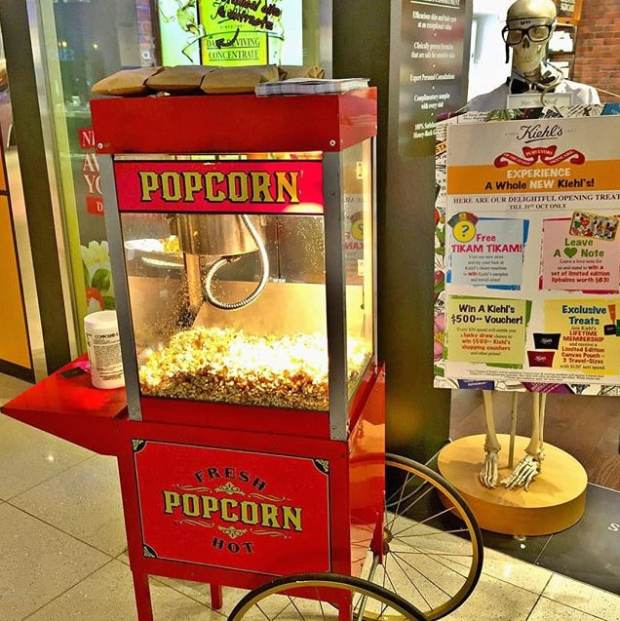Pop Corn Cart Rental