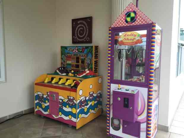 Arcade Game Stalls Rental