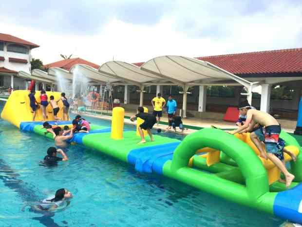 water-obstacle-course