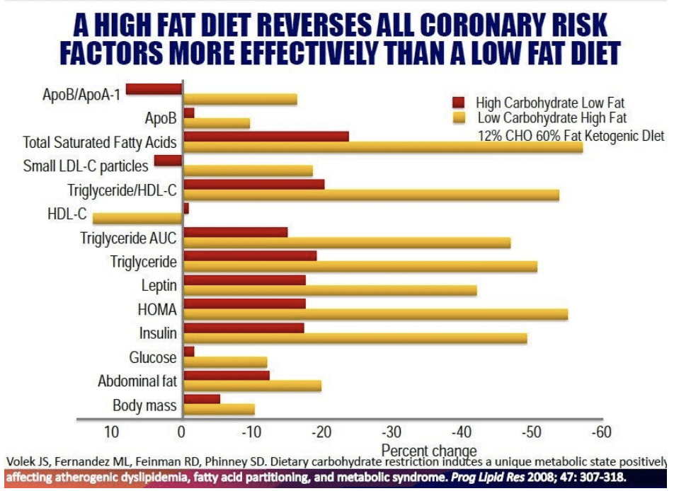 High fat diet reverses insulin resistance