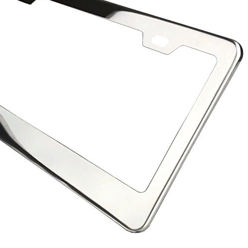 Circle-Cool-T304-Stainless-Steel-Polish-Mirror-License-Plate-Frame2