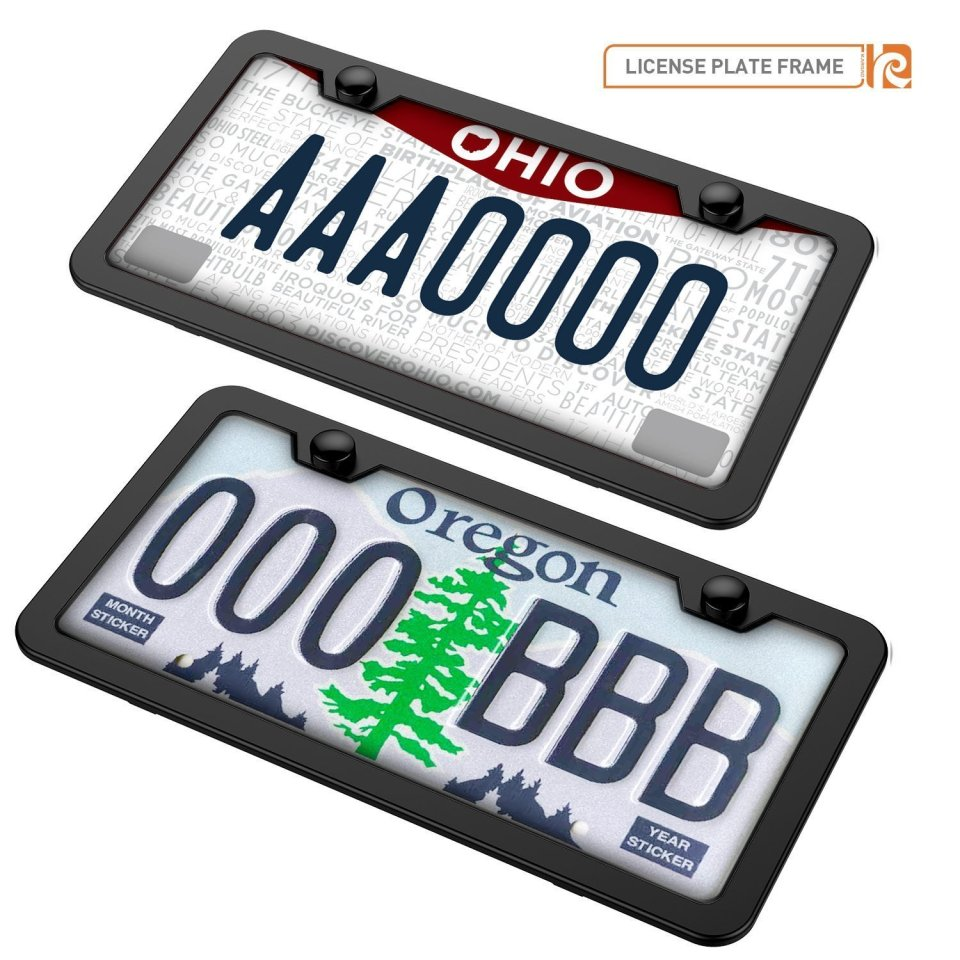 Karoad-Black-License-Plate-Frames0