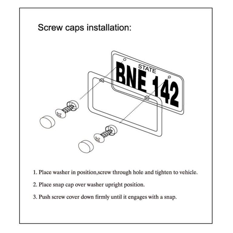 screw caps installation