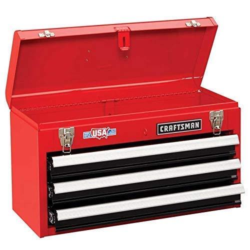 Craftsman 3-Drawer Metal Portable Chest Toolbox0