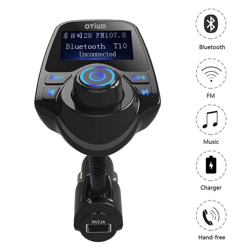 FM Transmitter Otium Bluetooth Wireless Radio2