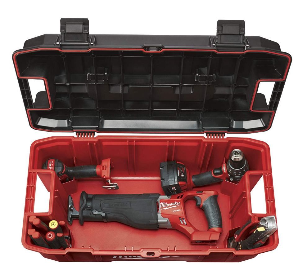 Milwaukee 26-inch Job-site Tool Box1