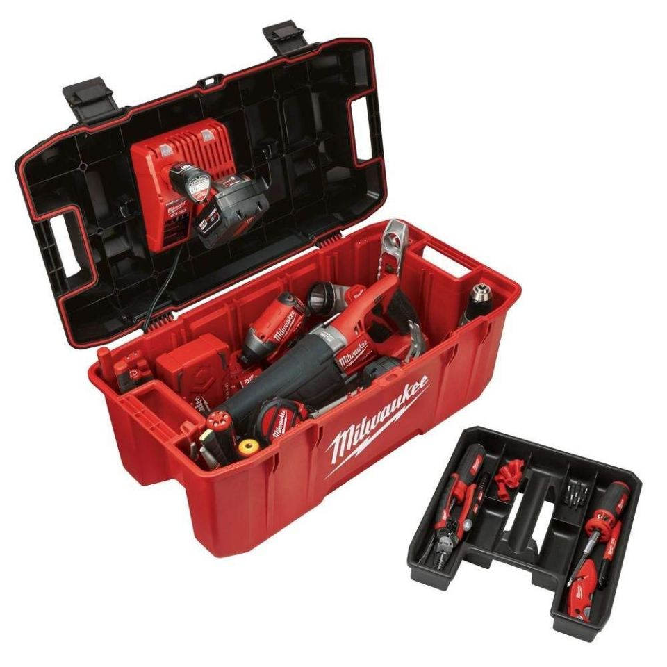 Milwaukee 26-inch Job-site Tool Box2