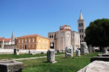 Zadar temple romain
