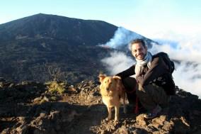 Eruption du volcan_Piton de La Fournaise