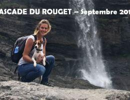 Cascade du Rouget avec ton chien