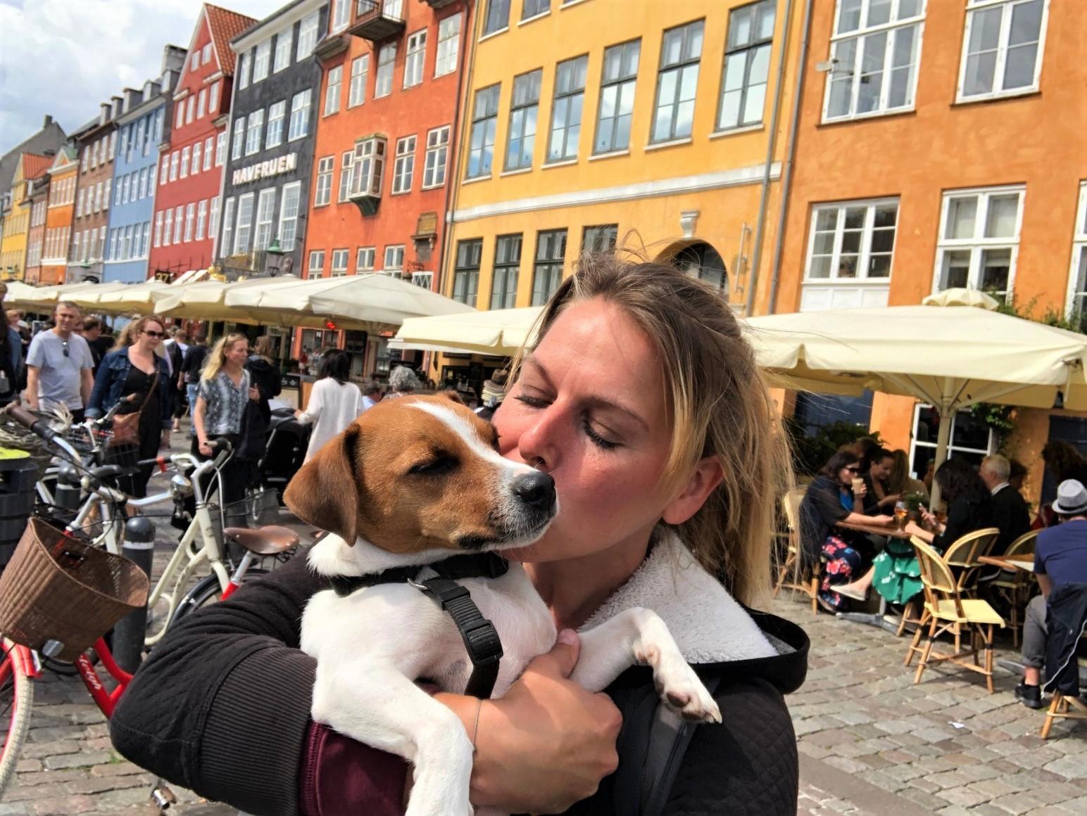 Copenhague avec chien