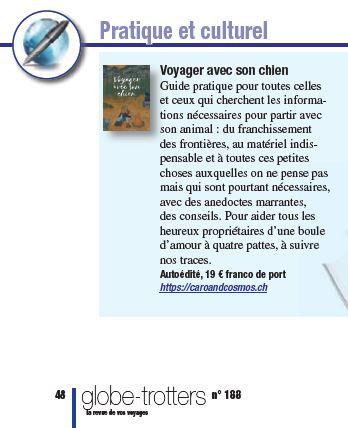Livre voyager avec son chien ABM.fr