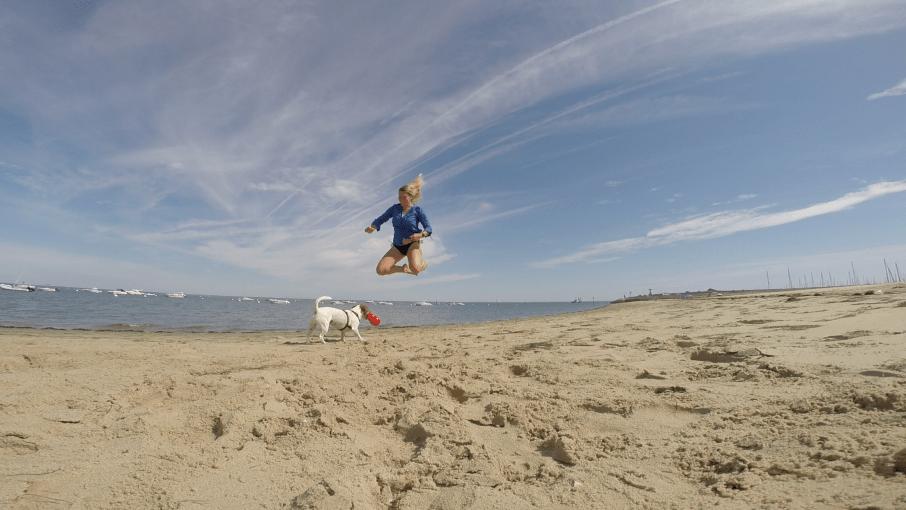 Arcachon chien plage