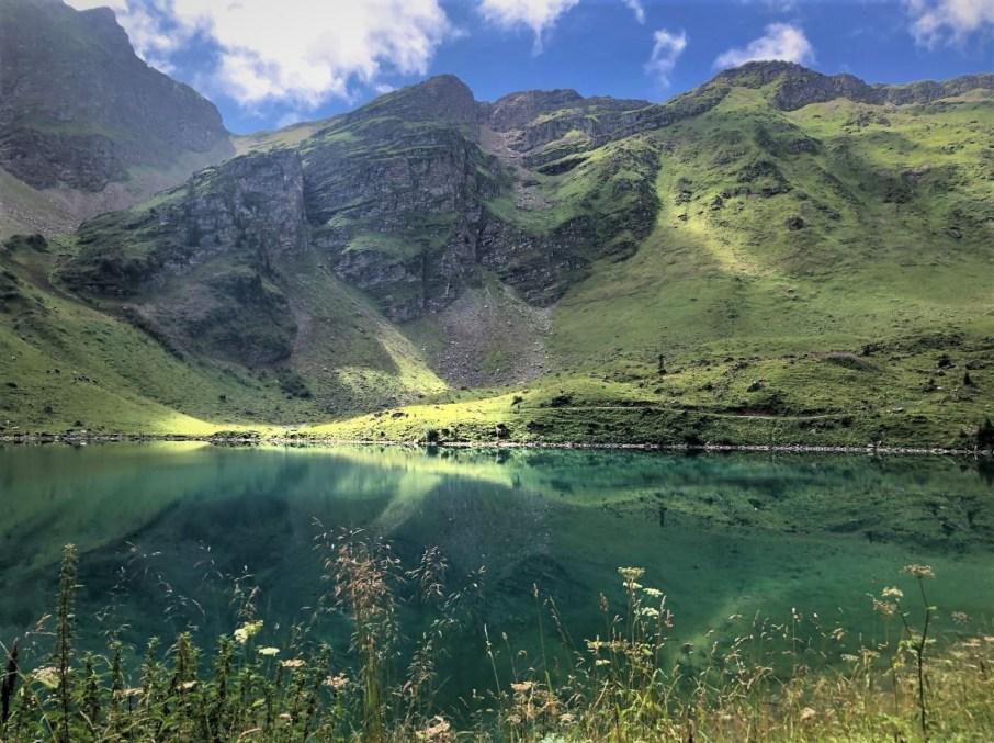 Lac de Lioson Suisse balade