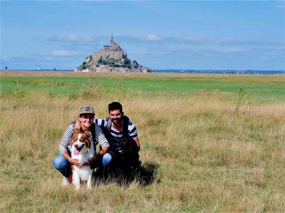 Mont Saint Michel chien