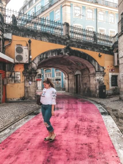 Pink Street Lisbon, Highlights aus Lissabon, Ein Erlebnis in Lissabon