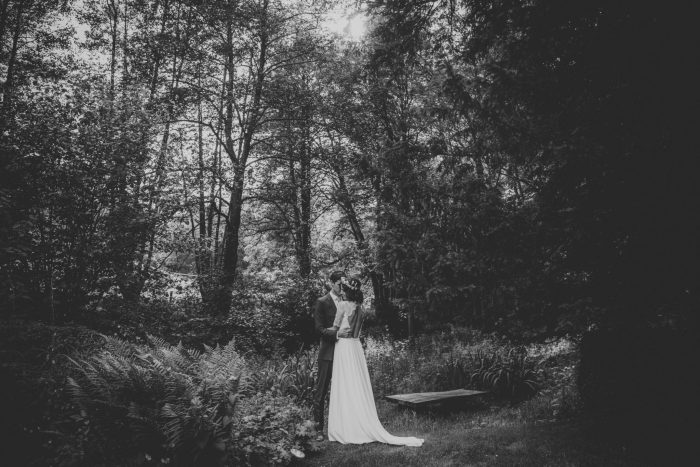 Forest wedding in Wales