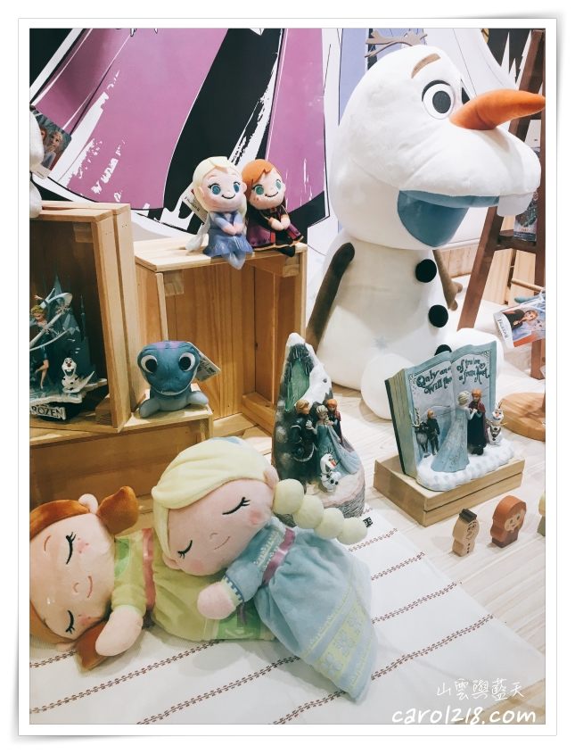 Zakka House秀泰廣場台中站前~冰雪奇緣2主題商品實體店,種類繁多又精緻的各式迪士尼雜貨