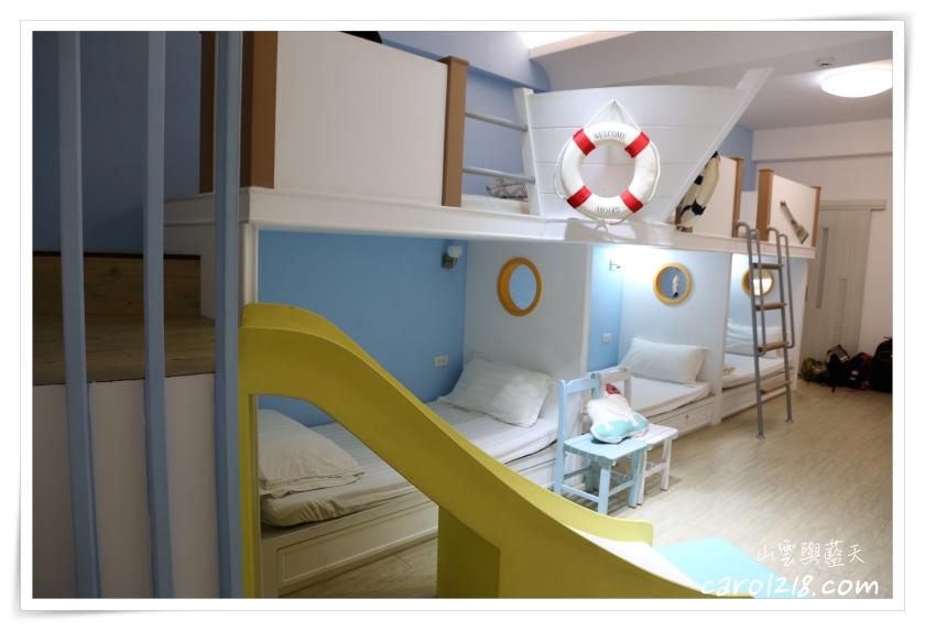 [台南親子民宿]西港外婆家,出乎想像的風格清新溫暖系溜滑梯民宿