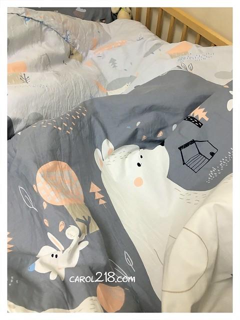 兩用被套,可愛療癒系床組,台中大里,大里,大里床組,大里棉床本舖,大里購物,山雲與藍天,床包,床組,棉床本舖,繪本風格床組,被套 @山。雲與藍天