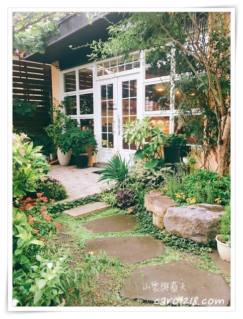中部景觀餐廳,四季花園,四季花園咖啡,彰化庭園咖啡,彰化社頭,彰化縣,社頭國中,花園咖啡館 @山。雲與藍天