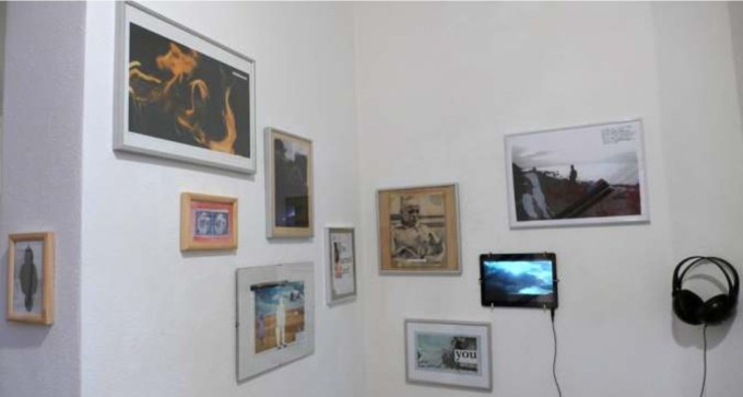 Ausstellungsansicht one moment Constanze Böckmann