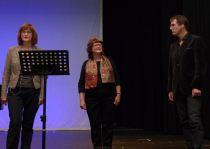 Mit Liliane Bertolini und Markus Heiniger bei der Kulturwoche 2015 auf der Bühne