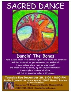 Sacred Dance Dec 20th 6-8PM Ashland