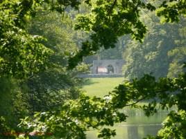 Blick zum Kriegerdenkmal (c) Carola Peters