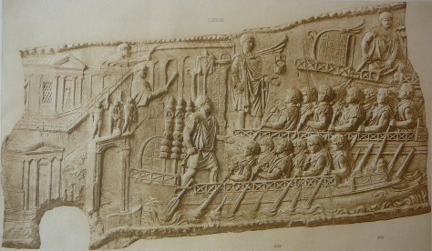 provincial fleet ships on Trajan's column