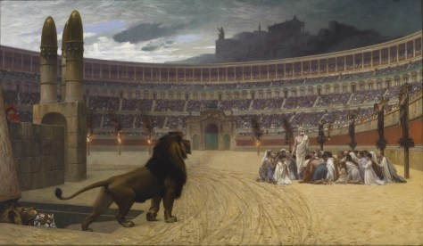 The Christian Martyrs' Last Prayer (1863-1883) Jean-Léon Gérôme